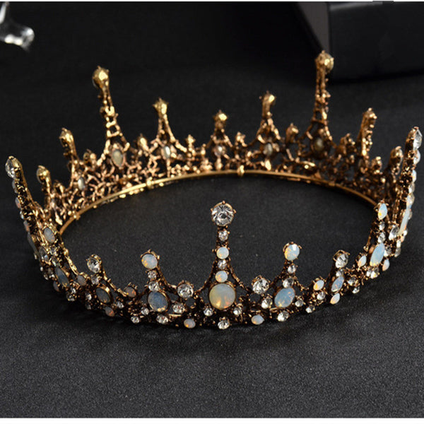 Crystal Wedding Tiaras Headpiece -  100007319 - ShaadiMagic
