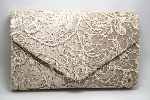 Hot Solid Beautiful Netted Clutches -  100002856 - ShaadiMagic