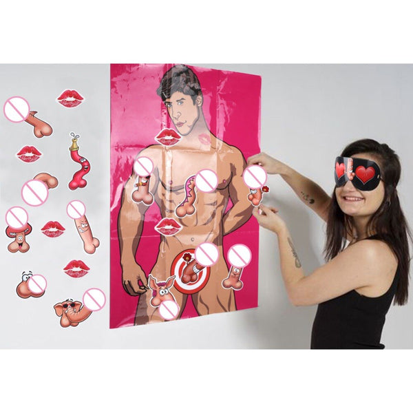 Bachelorette Party Paper Poster Game -  200220143 - ShaadiMagic