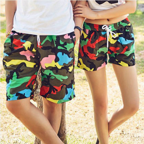 Couple Board Shorts Swimwear -  200003634 - ShaadiMagic