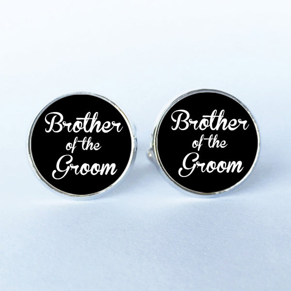 Wedding Cufflinks White & Black for Men -  200000175 - ShaadiMagic