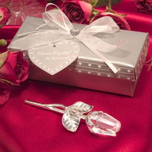 12 Pc. Crystal Rose Long Stem -  200222143 - ShaadiMagic