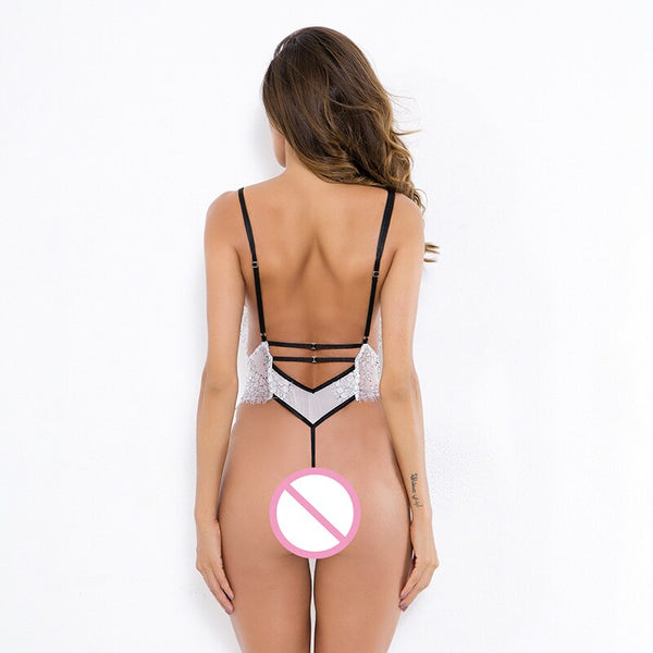 Transparent Backless Thong Sexy Lingerie -  200000362 - ShaadiMagic