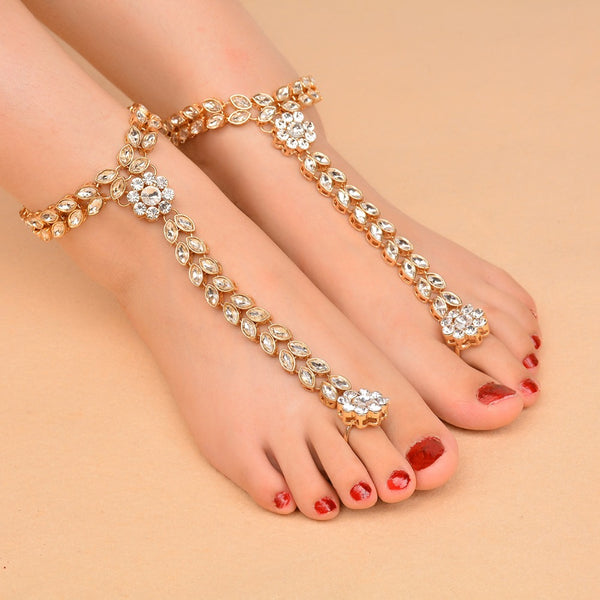 Vacation Ankle Bracelet Sandals Sexy -  200000141 - ShaadiMagic
