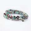 Charms Ceramic Bracelet Bangle