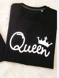 King And Queen Couple T shirt