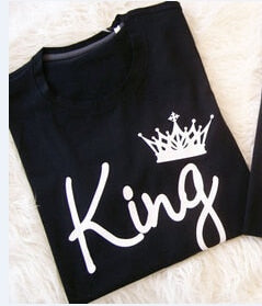 King And Queen Couple T shirt -  [product_type] - ShaadiMagic