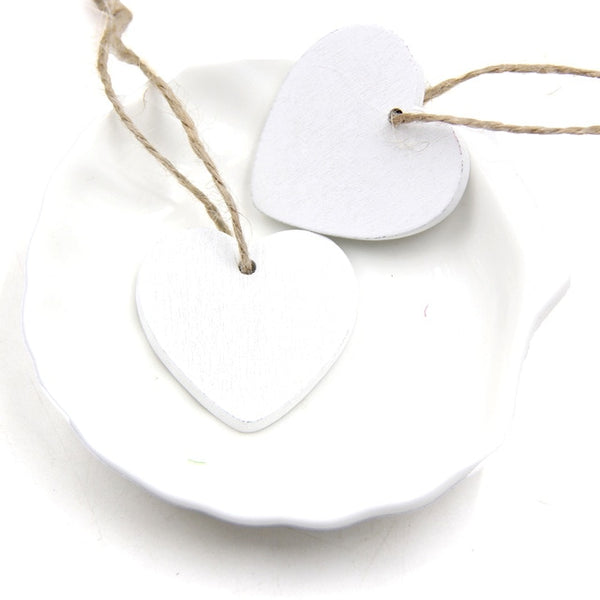 Hearts Wooden Pendants Decor / Favors -  [product_type] - ShaadiMagic