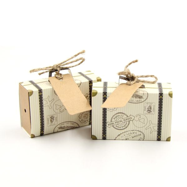 10 Pc. Paper Vintage Candy Sweet Box -  [product_type] - ShaadiMagic