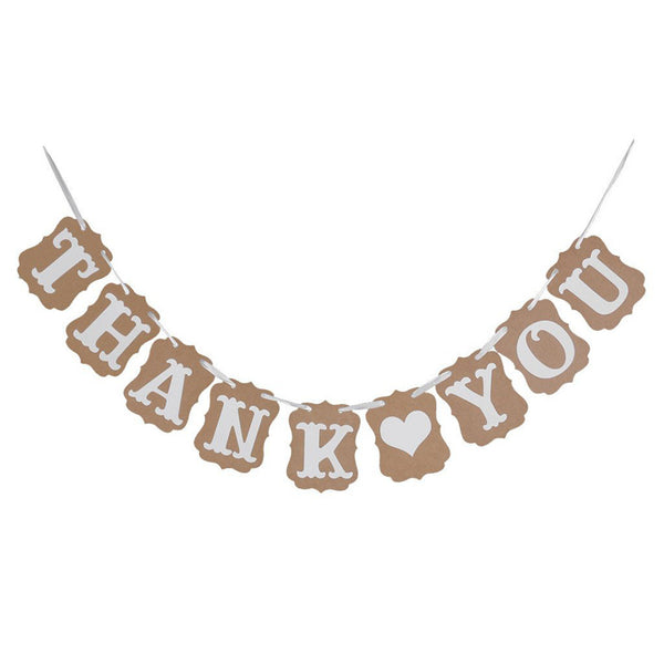 THANK YOU Card Paper Bunting Banner -  [product_type] - ShaadiMagic