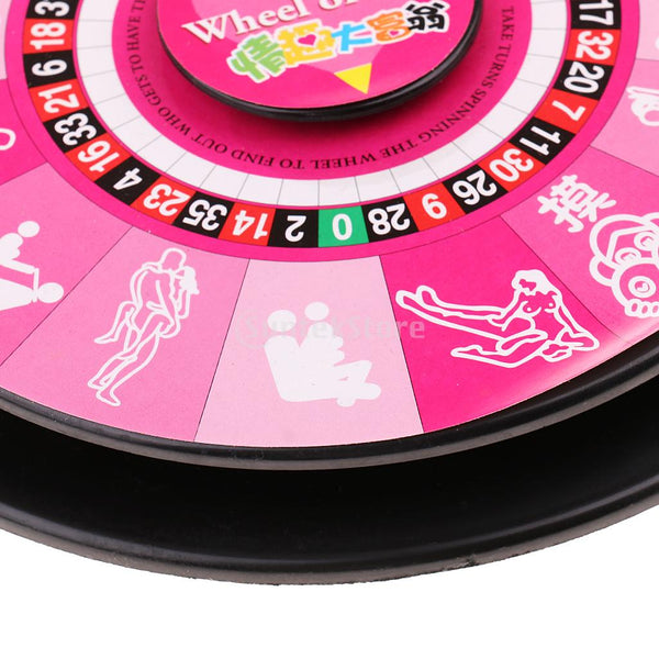 Adult Game Action Turntable Spinner