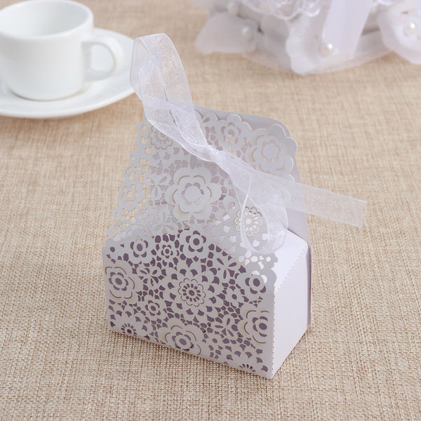 50 Pc. Hollow Die-Cut Floral Boxes -  [product_type] - ShaadiMagic