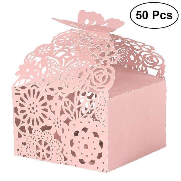 Butterfly Wedding Candy Boxes