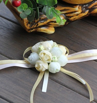 Bridesmaid Artificial Wrist Flower -  [product_type] - ShaadiMagic