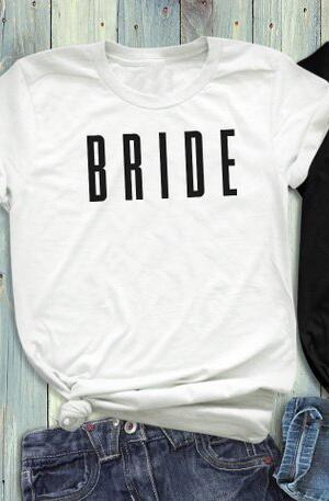 Bride Squad Coupled T-Shirt -  [product_type] - ShaadiMagic