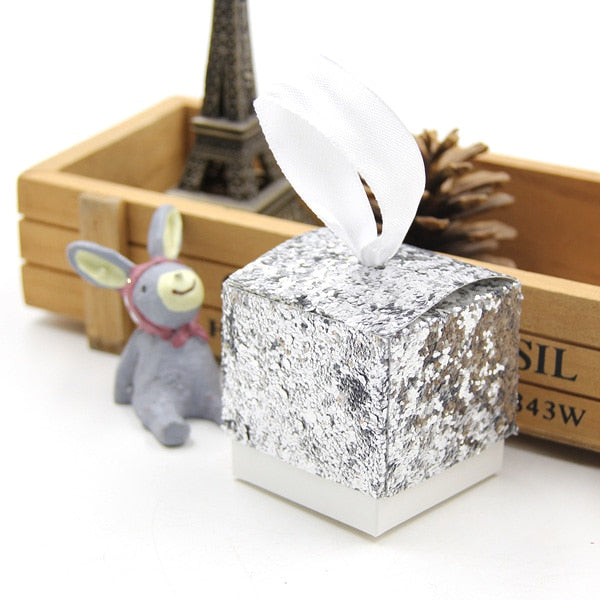 6 Pc. Gold/Silver Candy Gifts Box