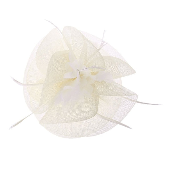 Party Hairpin Feather Floral -  [product_type] - ShaadiMagic
