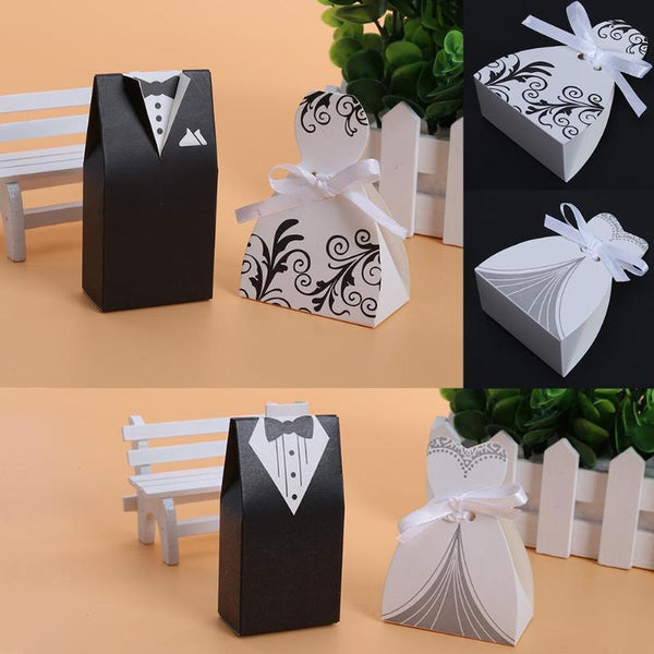 Black White Groom Bride Gift Box -  [product_type] - ShaadiMagic