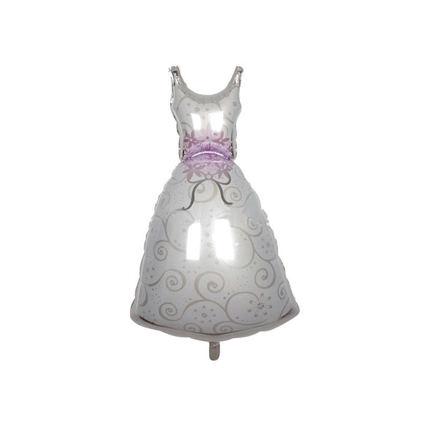 Foil Balloon Wedding Dress Suit Helium -  [product_type] - ShaadiMagic