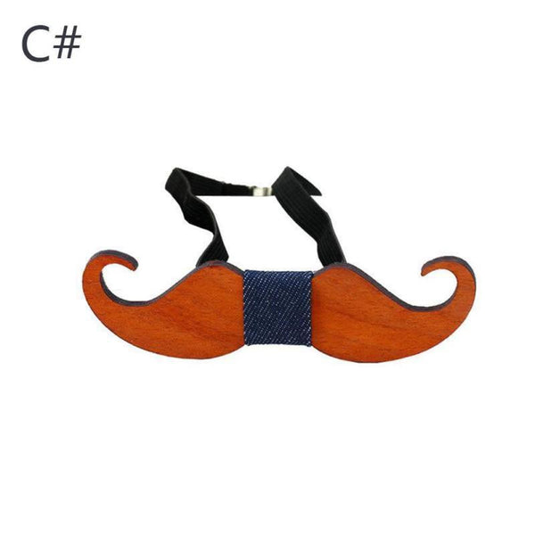 Western Wood Gentleman Bow Ties -  [product_type] - ShaadiMagic