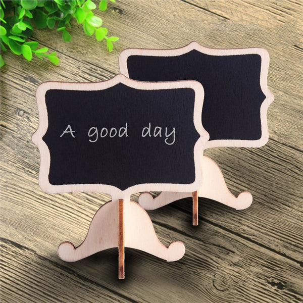 14 Pc. Mini Chalkboards Rectangle Blackboard -  [product_type] - ShaadiMagic