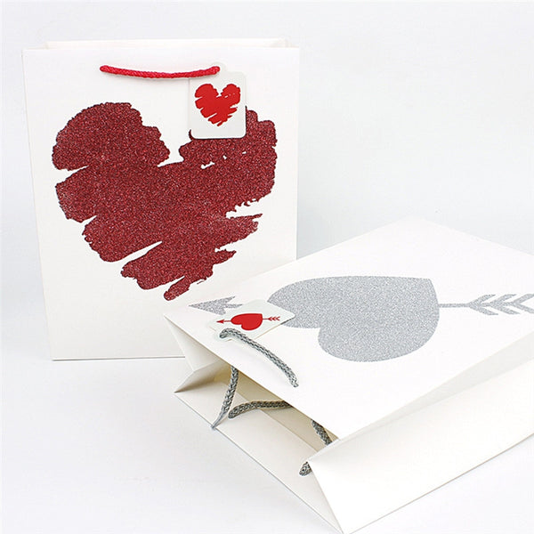 2 Pc. Heart Pattern Paper Candy Box -  [product_type] - ShaadiMagic