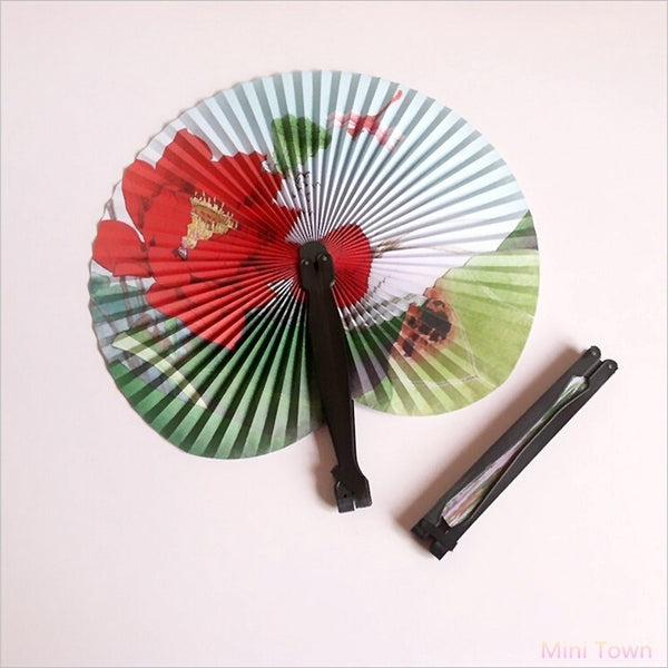 Paper Hand Fan Folding Wedding Party -  [product_type] - ShaadiMagic