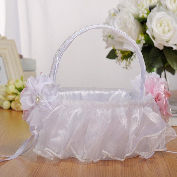 Bridal Wedding Flower Basket