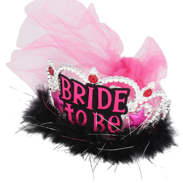 """Bride To Be""Crown Hair Hoop -  [product_type] - ShaadiMagic"