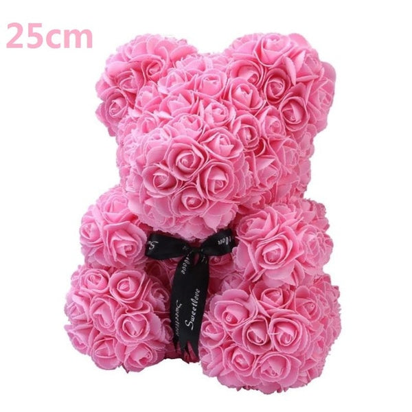 Rose Bear Doll Wedding Decoration -  [product_type] - ShaadiMagic