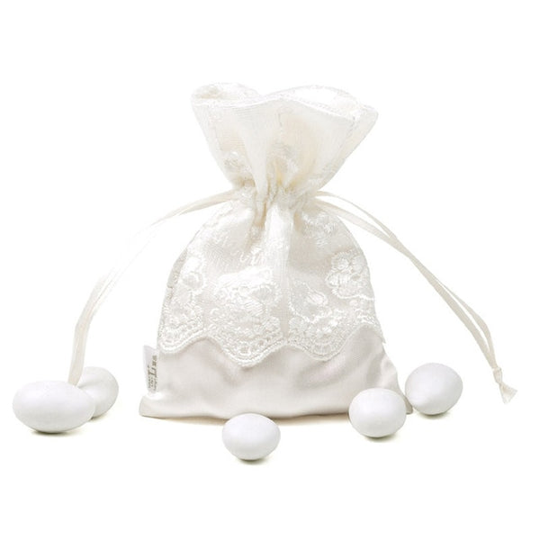 50 Pc. Lace Wedding Favor Pouch -  [product_type] - ShaadiMagic