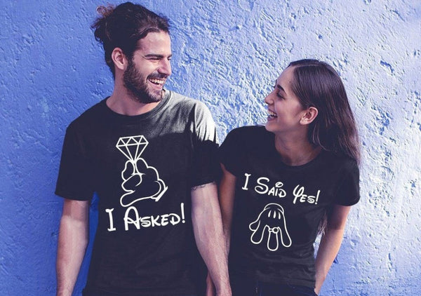 Wedding Proposal Slogan T shirt -  [product_type] - ShaadiMagic