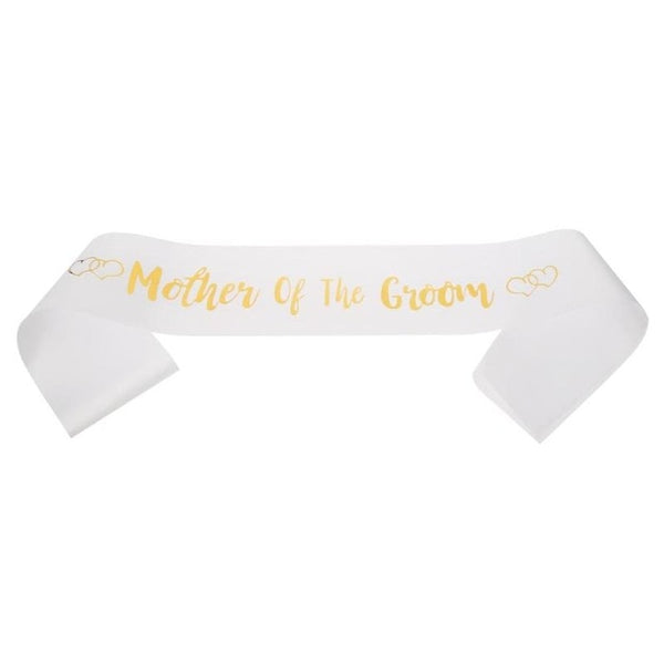 Satin Mother of The Bride/Groom Sashes -  [product_type] - ShaadiMagic
