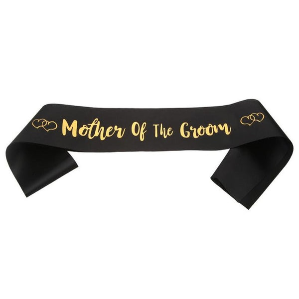 Satin Mother of The Bride/Groom Sashes