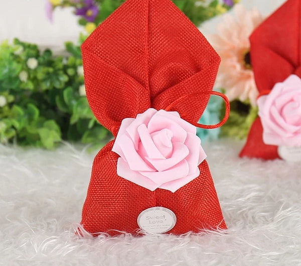 12 Pc. Burlap Candy Bag -  [product_type] - ShaadiMagic