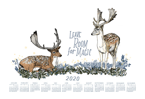 Leave Room For Magic / Wall Calendar