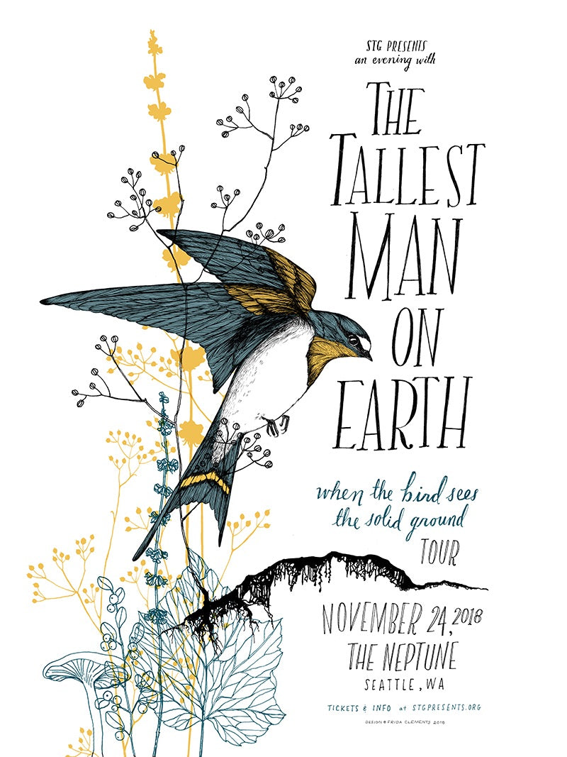 Tallest Man on Earth Poster