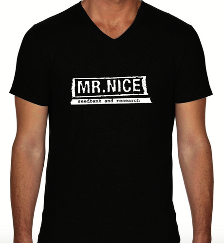 Mr. Nice T-Shirt - Black