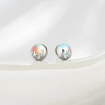 Aurora Forest Earrings - Misty and Molly