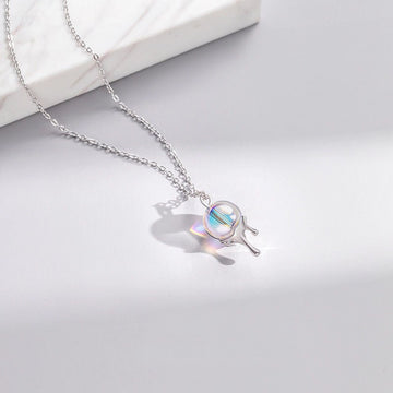 Rainbow Bubble Necklace - Misty and Molly