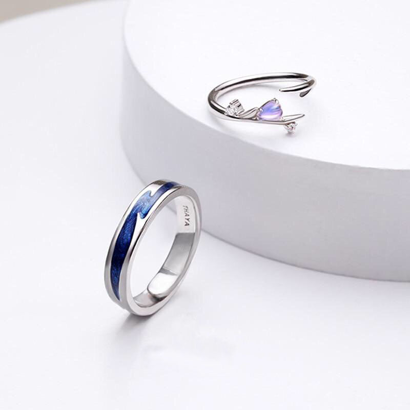 Falling in Love Rings - Misty and Molly