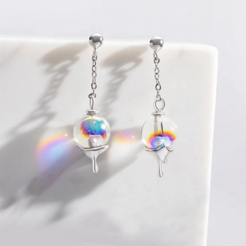 Rainbow Bubble Earrings - Misty and Molly