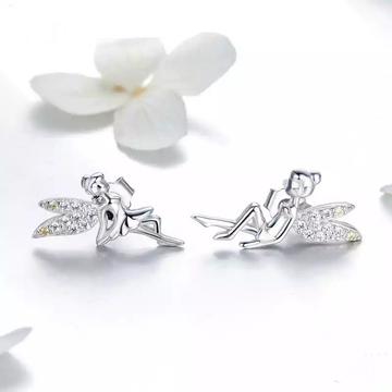 Garden Fairy Stud Earrings - Misty and Molly