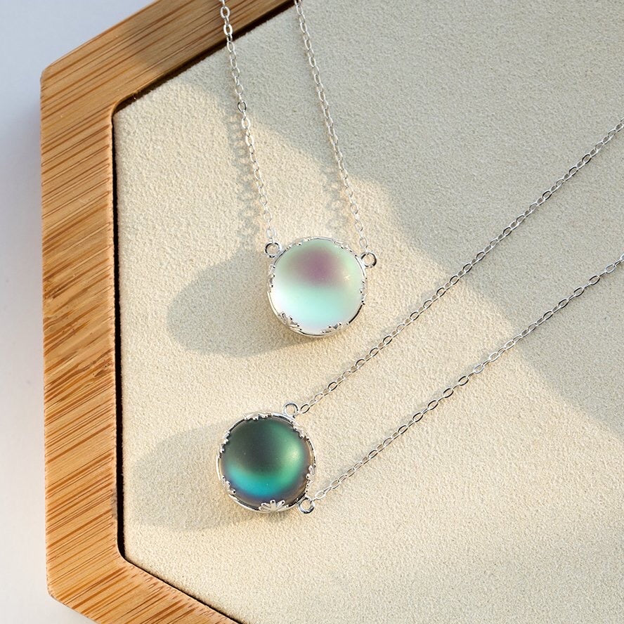 Aurora Forest Necklace - Misty and Molly
