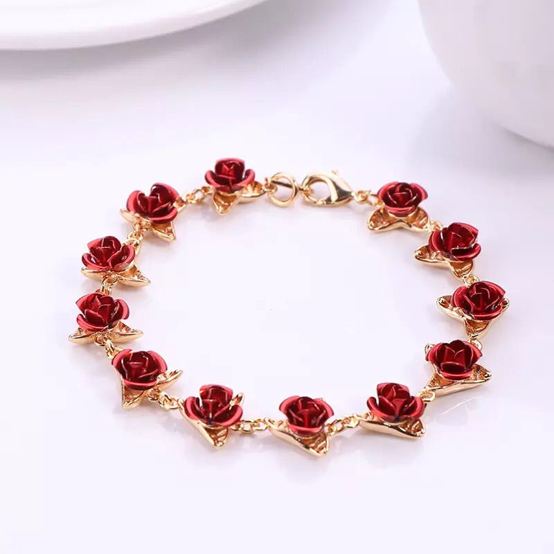 Dozen Roses Bracelet - Misty and Molly