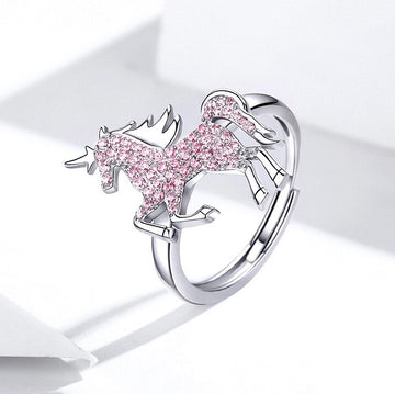 Pink Unicorn Ring - Misty and Molly
