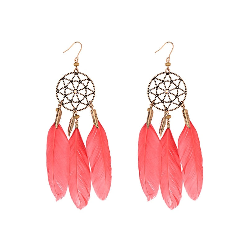 Classic Dreamcatcher Earrings - Misty and Molly