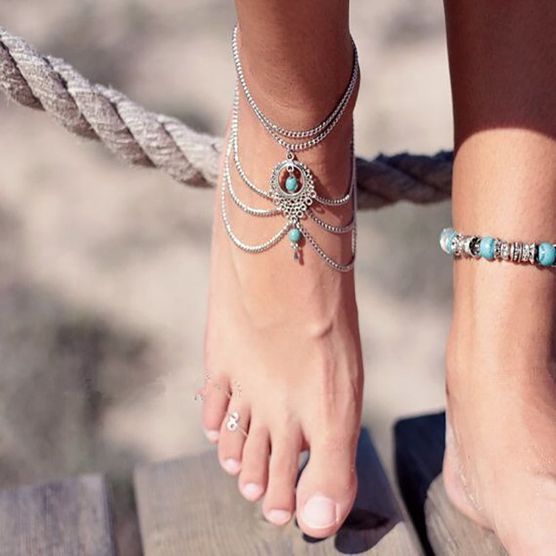 Summer Goddess Anklet - Misty and Molly