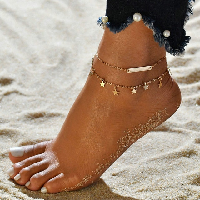 Stars Anklet - Misty and Molly