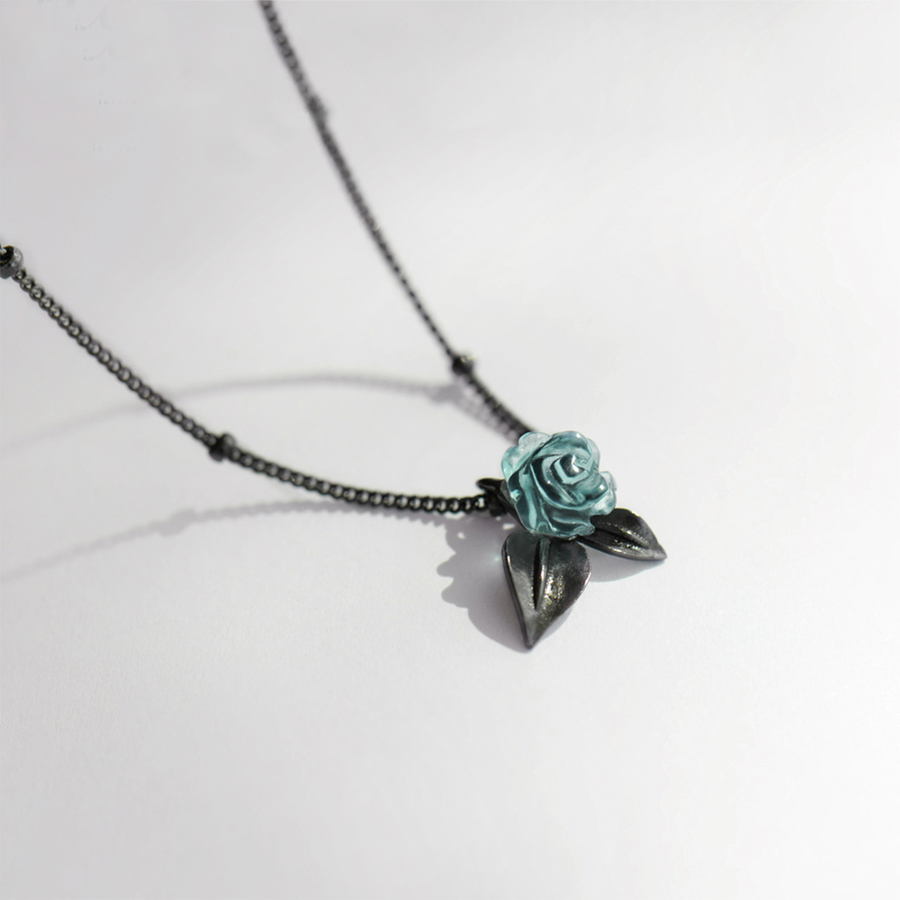 Thorns and Roses Necklace - Misty and Molly